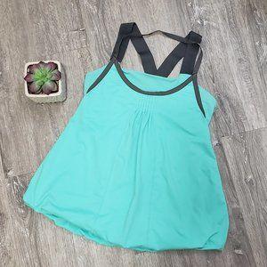 Lululemon * Awareness Tank * Mint Green Aqua * 8